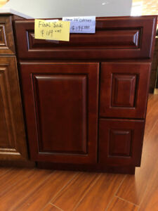 "$169 only!! 24"" solid wood cabinet floor demo CLEARANCE!!"