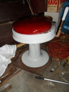 ANTIQUE BARBER CHAIR PARTS London Ontario image 7
