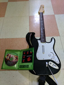 Rock Band 4 with wireless guitar