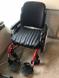 Helio XC2 ultralight folding wheelchair