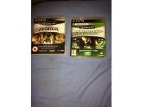 PlayStation 3 games.