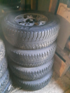 Michelin X-ice 265/70 R16 on Tundra/Tacoma 6 bolt rims