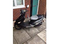 2010 pulse 50cc scooter BT 49 QT-9D1