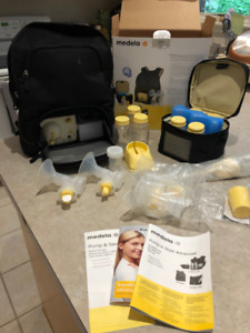 Medela Breast Pump and Tommee Tippee bottles