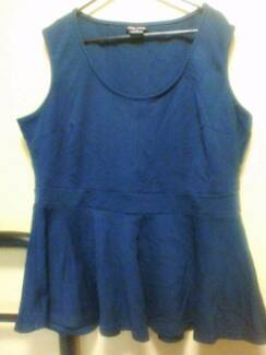 City chic teal peplum (Medium) Coorparoo Brisbane South East Preview