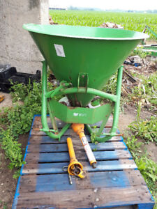 Fertilizer Spreader or Seeder. 3 pt hitch. Barely used. $750