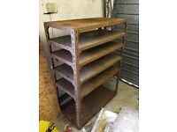 Metal shelving / cupboard / pigeon holes ( shelf )