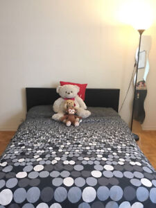 Moving Out Sale: Double Bed and Mattress - very comfortable!!!!