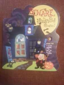 Halloween book.Beware the Haunted House!