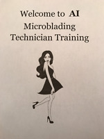 MICROBLADING TRAINING-MARCH 4th &5th 2017 *(1 SPOT LEFT)*