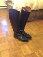 Koenigs tall riding boots