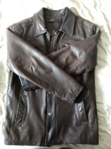 Manteau cuir pour hommes / Men's Leather Jacket