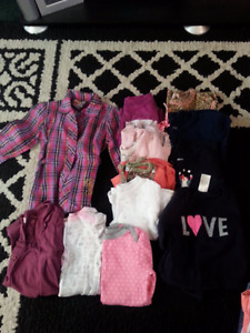 large lot 6-9 month winter clothing girl