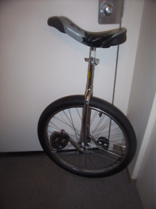 Unicycle like new with 24 and 20 wheels