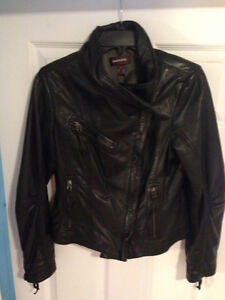 Brand New soft Danier  -LADIES- Motorcycle Style Leather Jacket