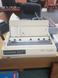 Okidata microline 391 plus dot matrix printer