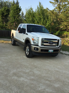 2012 Ford F-350 King Ranch Diesel Loaded