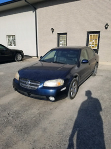 2003 Nissan Maxima SE Titanium Package 6 Speed