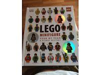Brand new Lego mini figure hard back anthology book for sale