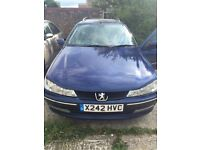 Peugeot 406 GLX Hdi Estate (spares or repair due to engine light)