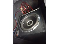 VIBE 1600watts subwoofer with Amp
