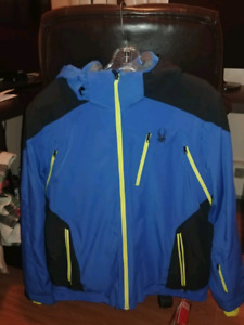 Spyder mens Large jacket for sale.