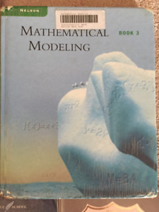 High School Text - Mathematical Modeling - Book 3