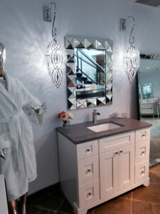 EVERYTHING FOR BATHROOM & KITCHEN:VANITY, CABINET,MIRROR & MORE