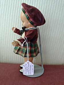 "Reliable 8"" Composition 'Standing Doll!' circa 1945 London Ontario image 4"