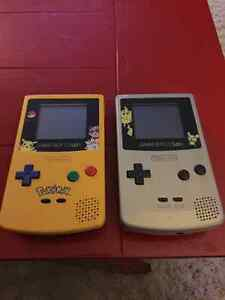 2 Pokemon edition Gameboy colours yellow & silver