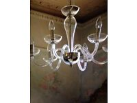 Glass chandelier Graham & Green