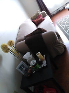 Couch and Love Seat - $150