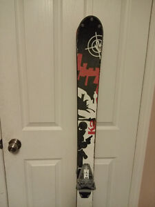 159cm twintip skis and boots