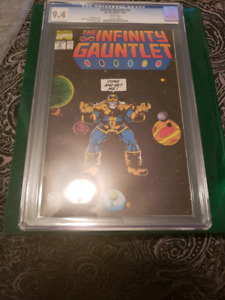 The Infinity Gauntlet  #4 CGC  9.4