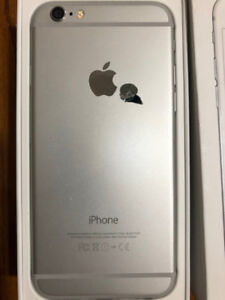 Unlocked iPhone 6 silver colour 64GB for sale