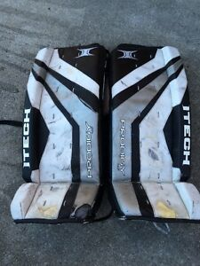 6 pc GOALIE EQUIPMENT (used) FOR SALE