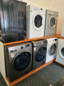 Washer Dryers. New/Graded & Reconditioned. Free Delivery. Warranty