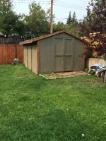 10x12 ft Wooden Shed