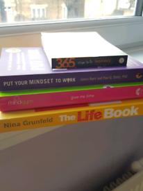 Inspiring positive life work mental health books FREE extra books