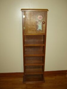 Solid wood CD stand or display cabinet