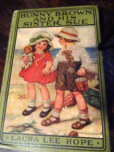 1st EDITION 1916 BUNNY BROWN and HIS SISTER SUE Laura Lee Hope