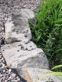 Pond or rockery garden rocks