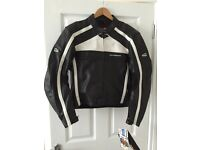 Brand New Hein Gericke Leather Motorcycle Jacket