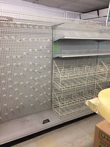 Convenience Store Steel Shelving