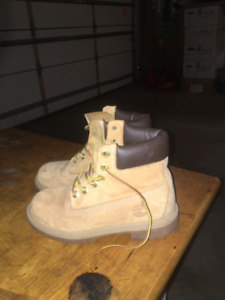 Timberland Winter Boots Tan Size 4.5