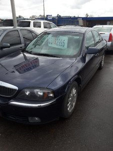 2003 Lincoln LS leather Sedan