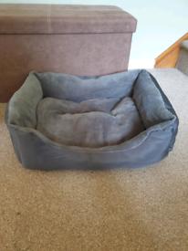 Dog bed.