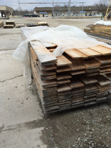 1x8 Spruce (eased edges) PILES - LUMBER CLEAROUT