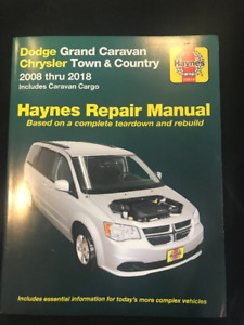 Haynes Repair Manual Dodge Caravan '08-18