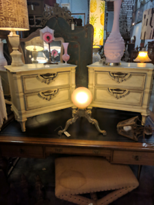 Pair of Italian Style Bedside Chests of Drawers